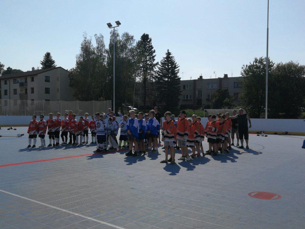 Turnaj mladší žáci Blovice 31.8.2019